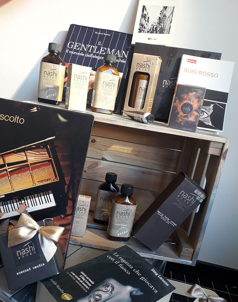 parrucchiere Fabio Principi Nashi & libri